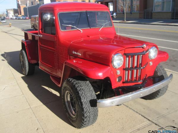 Carl Black Chevrolet >> 1953 Jeep Willys Truck Restored   Carflipping.com ...